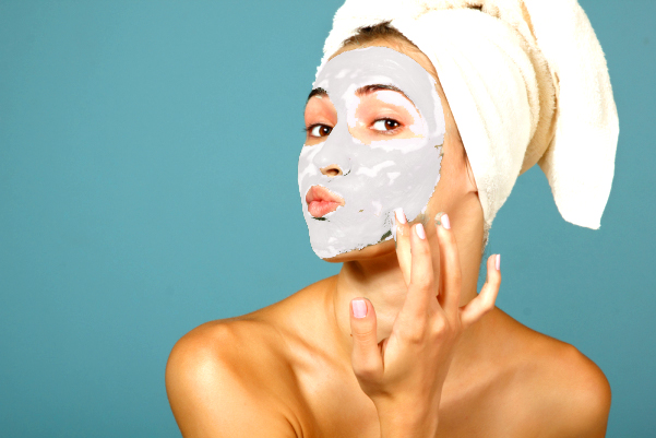Gesichtsmaske mit Jojobaöl