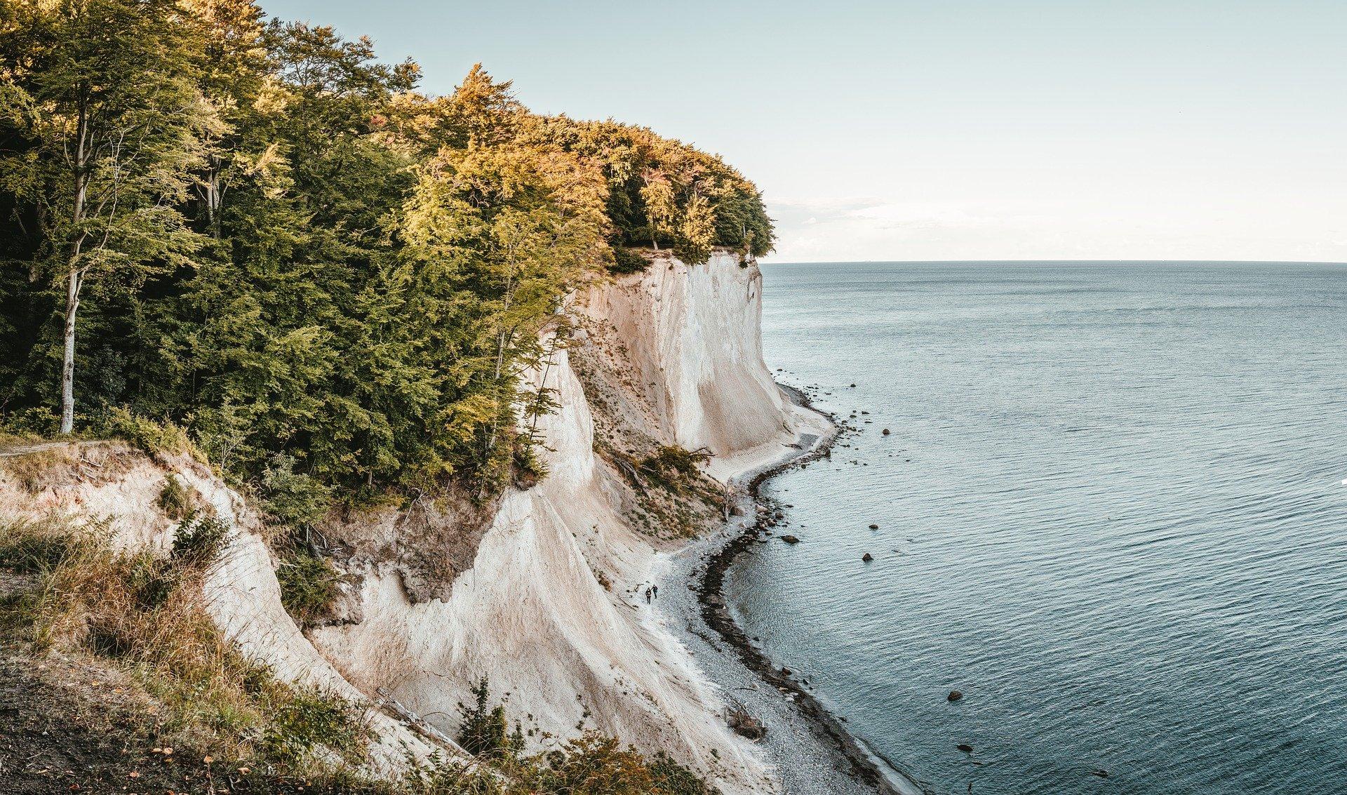 Steilküste Rügen Ostsee